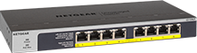 NETGEAR 8-Port PoE/PoE+ Gigabit Unmanaged Switch