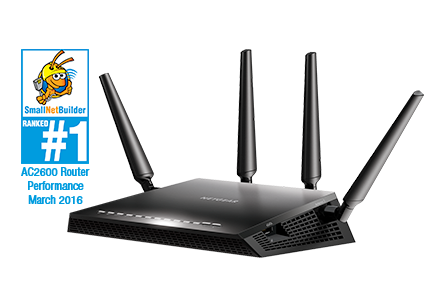 Smart Router Wi-Fi Nighthawk X4S per gaming
